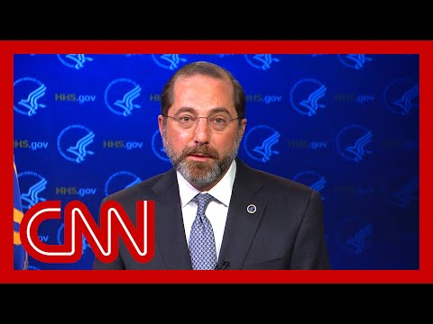 HHS secretary: We don't know how many have been tested yet