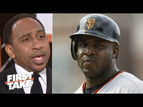 Stephen A. reacts to Barry Bonds claiming he has a 'death sentence' from MLB | First Take