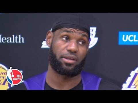 LeBron clarifies coronavirus comments on playing without fans   NBA Sound