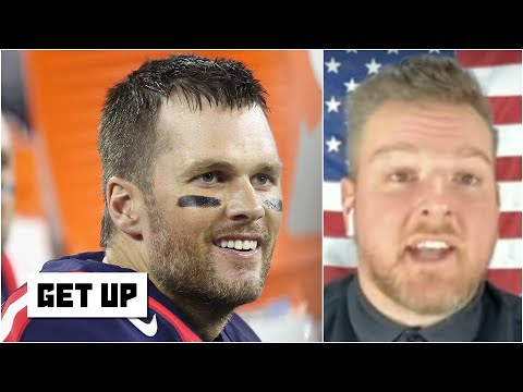Pat McAfee reacts to Tom Brady's decision to join the Buccaneers | Get Up