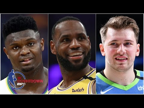 Does LeBron save his best for Zion, Luka and the NBA's newest stars?   NBA Countdown