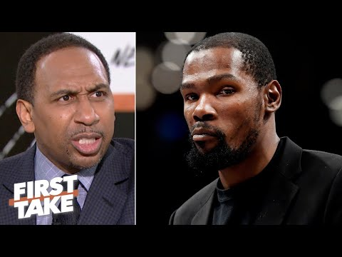 Stephen A. LOSES IT over Kevin Durant possibly playing in the 2020 Tokyo Olympics | First Take