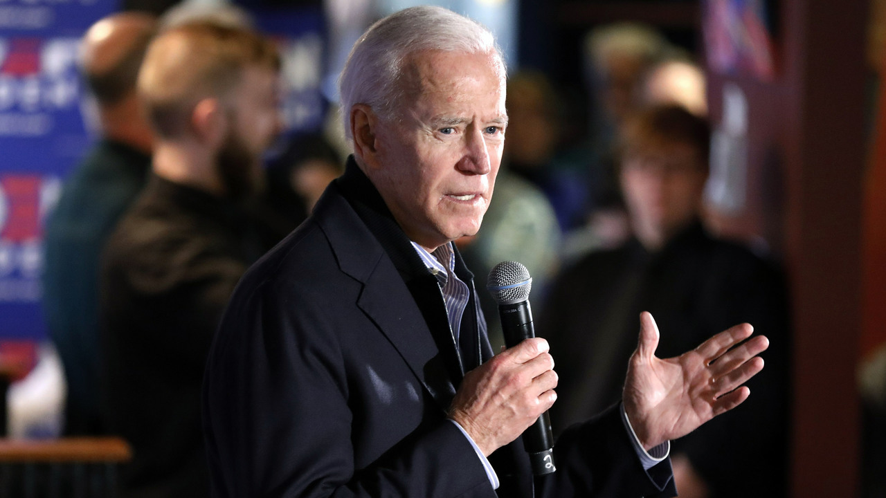 Biden, on video, lashes out at Detroit autoworker in profanity-laced gun dispute
