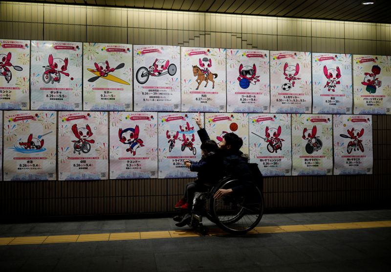 Olympics or not, Japan wheelchair dancer has message: diversity is cool