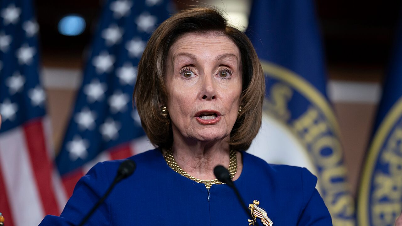 Pelosi says Dem coronavirus package could be released this week, as Schumer attacks Trump