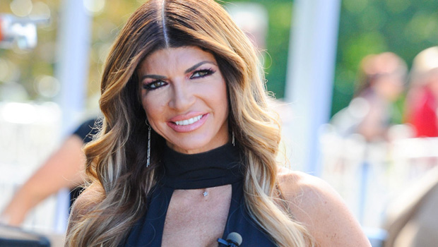 Teresa Giudice Shows Off Her Incredible Body In Plunging Gold Bathing Suit After Splitting With Joe