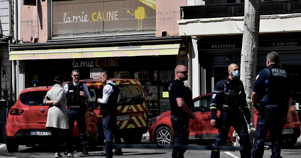 Fatal Knife Attack in French Town Under Lockdown