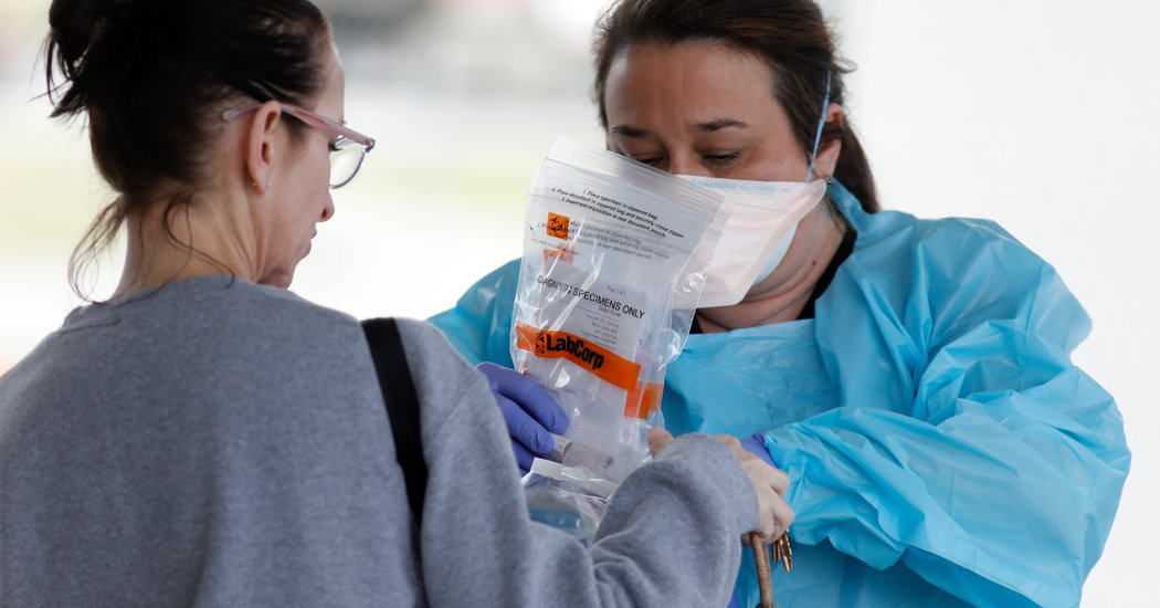 F.D.A. Approves First In-Home Test for Coronavirus
