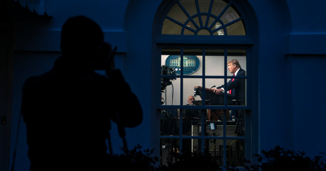 Home Alone at the White House: A Sour President, With TV His Constant Companion