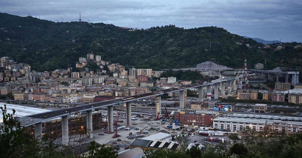 Genoa's New Bridge Nears Completion, Turning Tragedy Into Hope