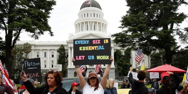 California faces civil-rights lawsuit after Highway Patrol bans rallies at state Capitol over coronavirus