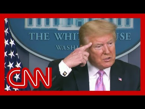 Trump asked what metrics he's using. See his response.