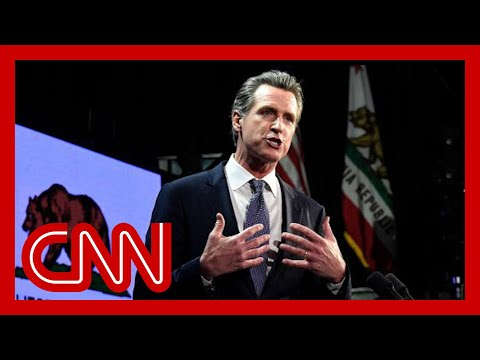 California governor outlines plan to reopen