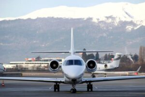 Wealthy Fliers Worried About Coronavirus Turn to Private Jet Service