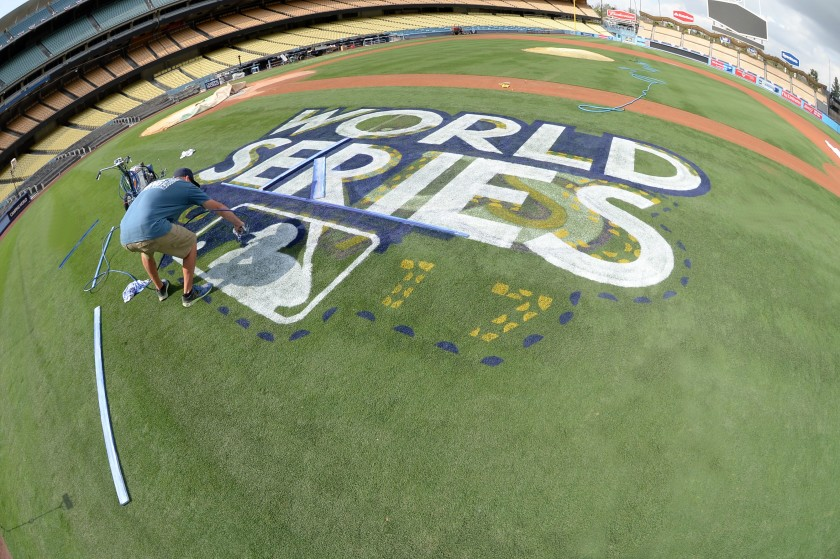 Hernández: Dodgers lead groundskeeper Jordan Lorenz is ready to have a field day