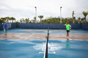 Is Pickleball the Perfect Pandemic Pastime?