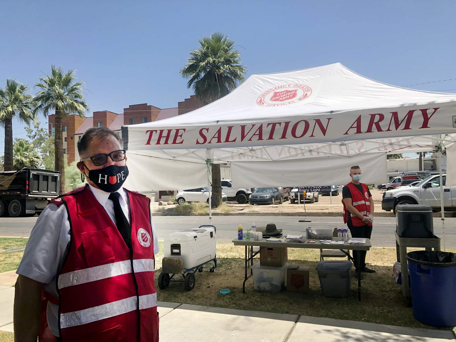 Virus protection adds new wrinkle to Southwest heat relief