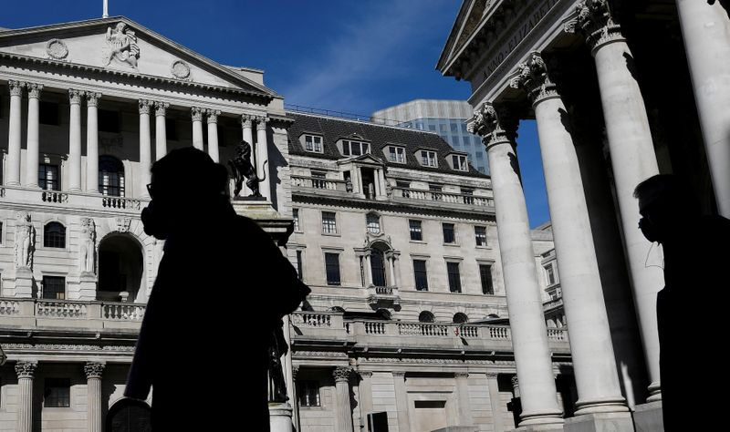 Let's risk overdoing stimulus for searing COVID hit: BoE's Saunders