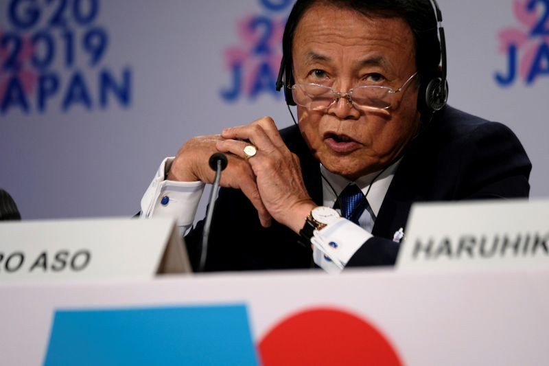 Japan finance minister sees fiscal situation worsening as virus hits tax revenue