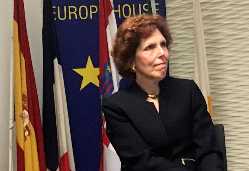 Fed's Mester says it's hard to imagine quick V-shaped recovery