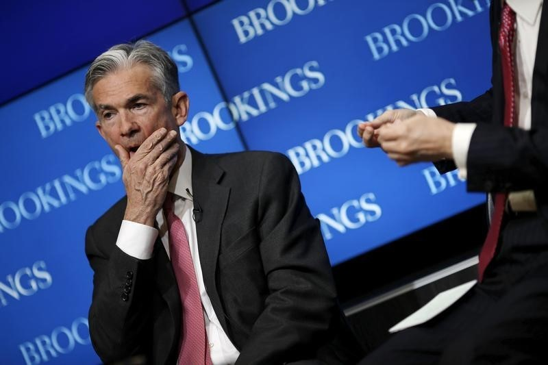 © Reuters. Powell Says Fed Crossed Red Lines When Virus Demanded Action