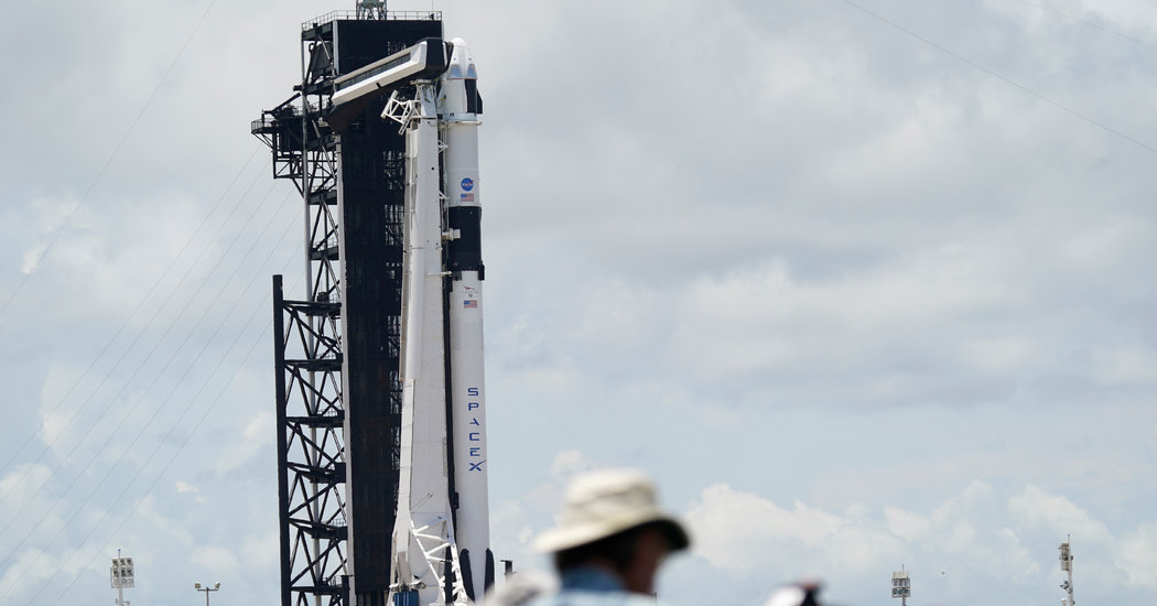 Watch Live: SpaceX Astronaut Launch