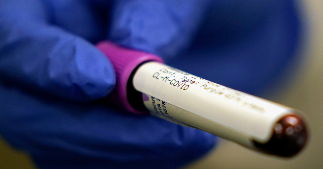 F.D.A. Orders Companies to Submit Antibody Test Data