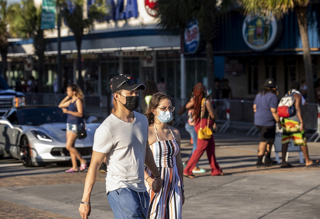 WHO guidance: Healthy people should wear masks only when 'taking care of' coronavirus patients