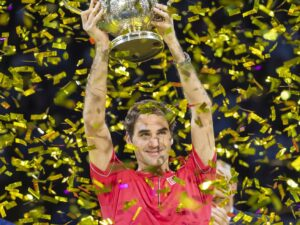 Roger Federer is first tennis player to top list of highest-earning athletes