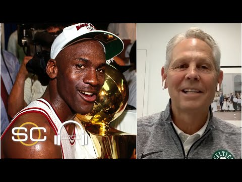 Michael Jordan carried the NBA on his back – Danny Ainge   SC with SVP