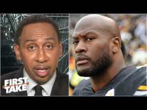 Stephen A. reacts to James Harrison clarifying Mike Tomlin comments: 'You said it!' | First Take