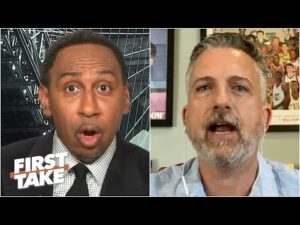 Stephen A. & Bill Simmons debate MJ vs. LeBron as the NBA GOAT | First Take