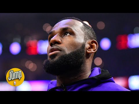 LeBron James is among the NBA players speaking out about the death of George Floyd   The Jump