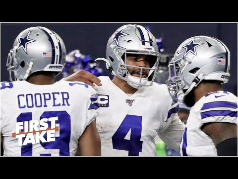 Where do the Cowboys' triplets rank in the NFL?   First Take
