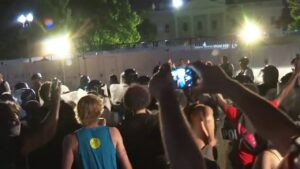 Buildings around White House board up, protect valuables amid possibility of more protest vandalism