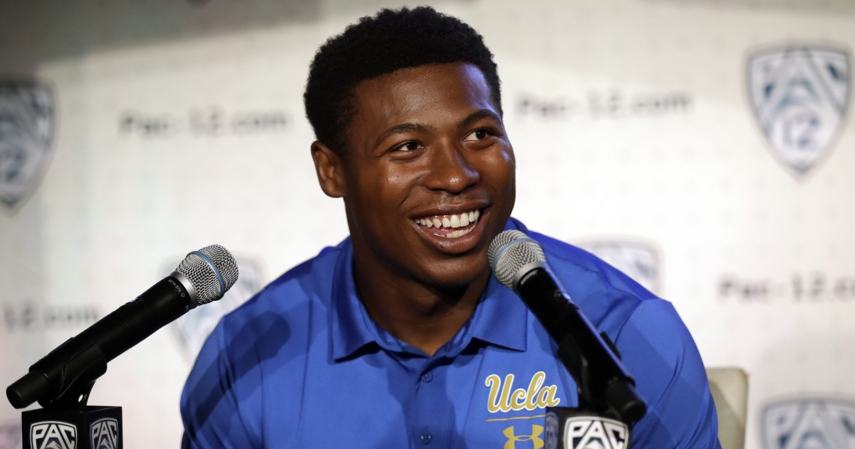 Appreciation: Chargers getting more than a good humor man in UCLA's Joshua Kelley