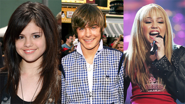 Disney Channel Stars Then & Now: Selena Gomez, Zac Efron, Miley Cyrus, & More