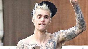 Justin Bieber Shows Off His Massive Tattoo Collection & Chiseled Torso In Hot New TikTok Video