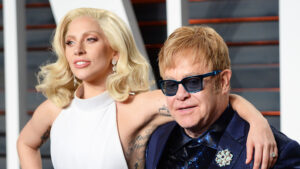 Lady Gaga & Elton John Subvert Fan Expectations In Electronic Dance Collab 'Sine From Above'