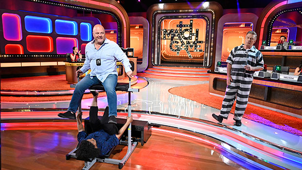'Match Game' Preview: Contestant Shows Off Insane Strength By Leg-Pressing Michael Chiklis