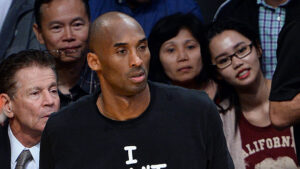 Vanessa Bryant Shades 'All Lives Matter' Troll After She Posts Pic Of Kobe In An 'I Can't Breathe' T-Shirt