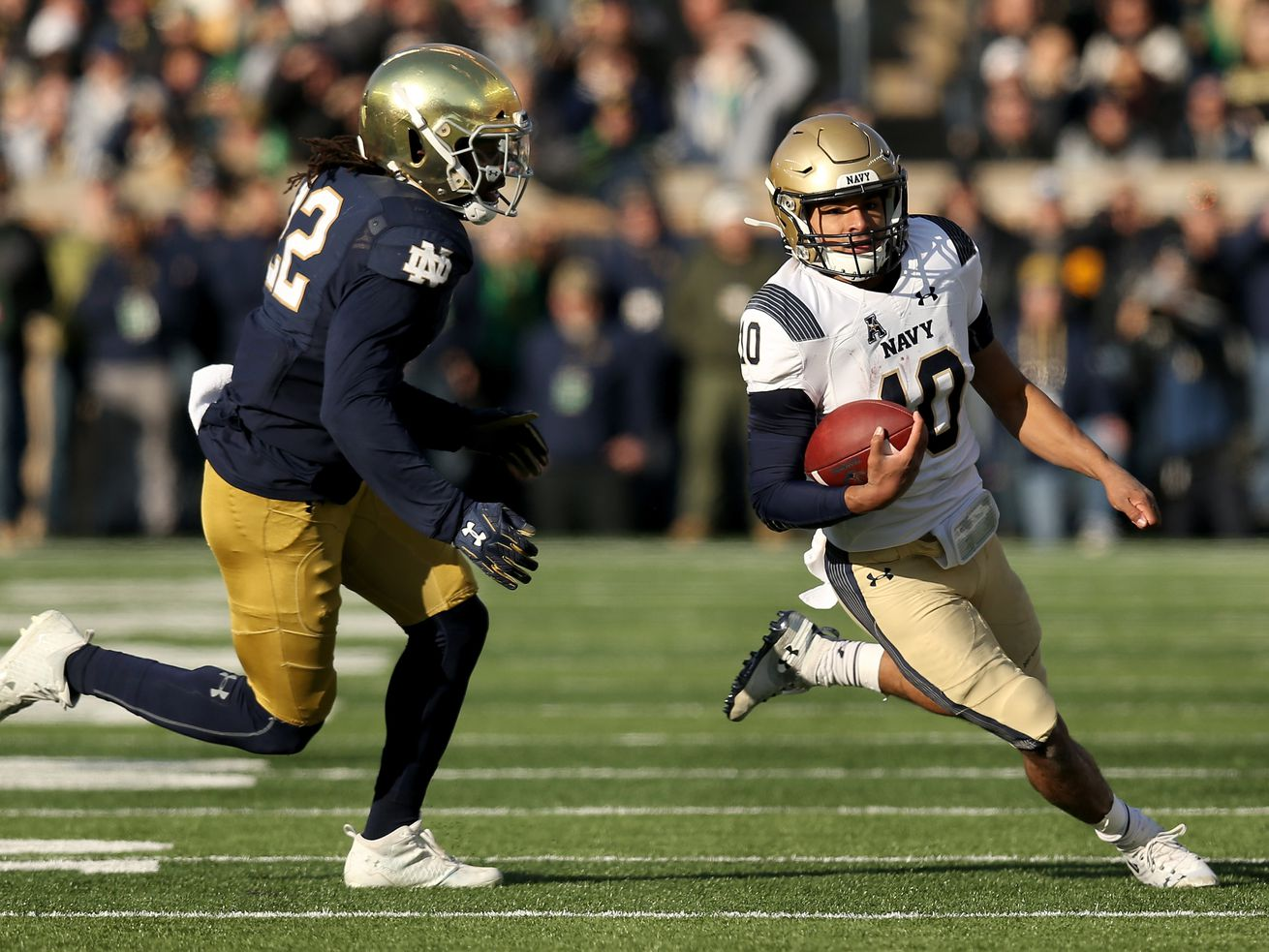 Pandemic forces Notre Dame-Navy football opener to move from Ireland to U.S.