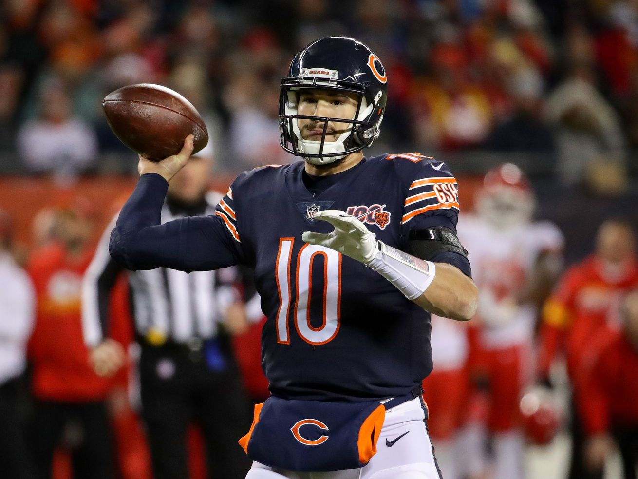 Mitch Trubisky on racial injustice: 'We must do better'