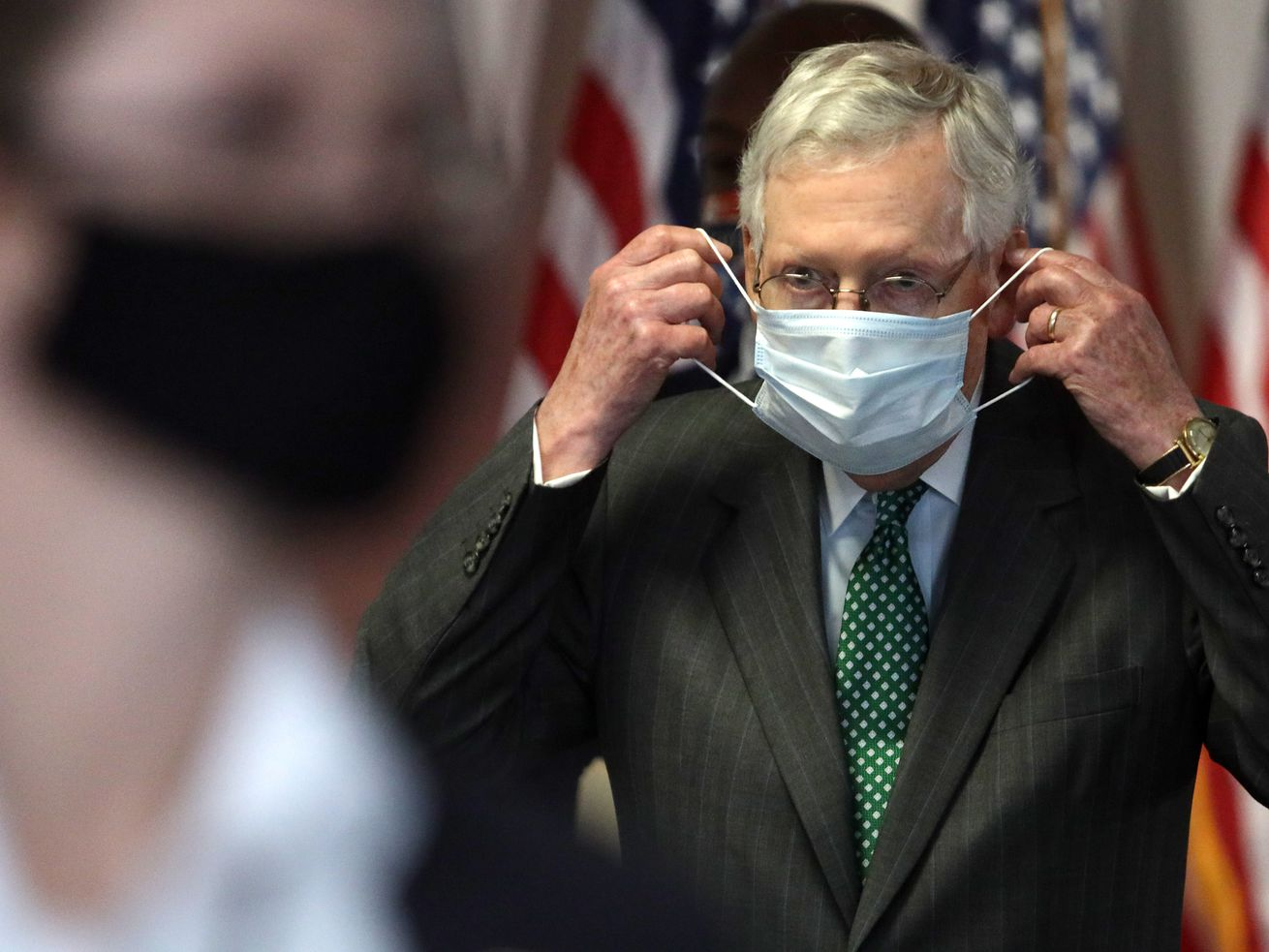 Republicans, with exception of Trump, now push mask-wearing to fight coronavirus