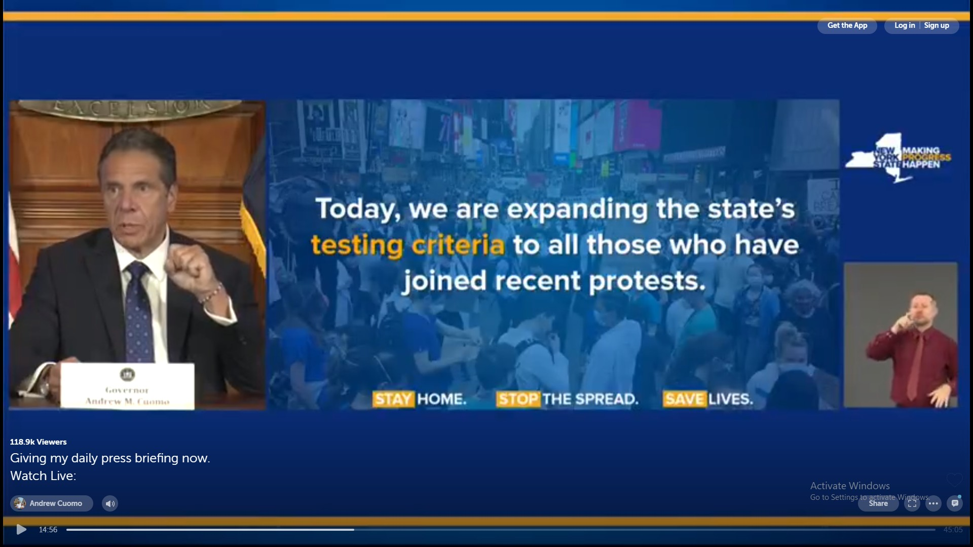 There's Something Weird About Cuomo Asking Protesters to Get COVID Tests