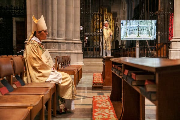 Trump's Visits to Church and Shrine Draw Fierce Rebukes From D.C. Clergy