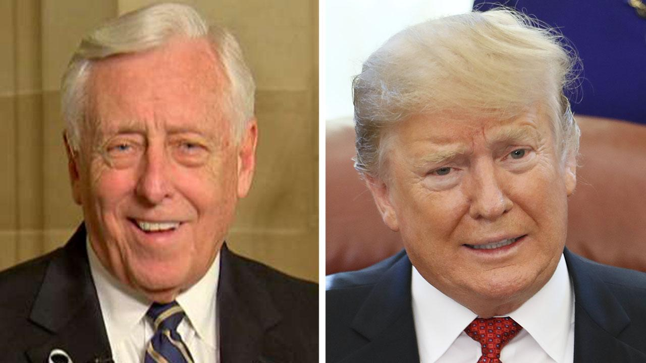 Hoyer calls Trump church visit an 'action worthy of censure,' after protesters cleared