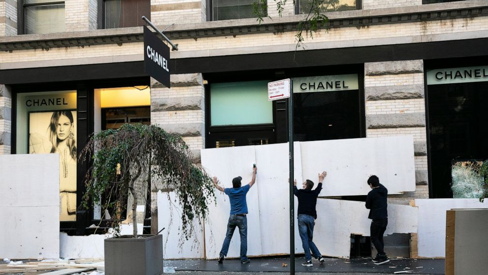 Cleanup follows another night of unrest in NYC