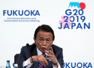 Japan has no immediate plan to issue 'corona-bonds': finance minister Aso