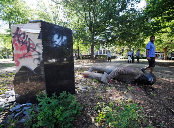 George Floyd Protests Reignite Debate Over Confederate Statues